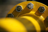 Yellow pipe — Stock Photo