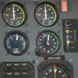 Helicopter control panel — Stock Photo