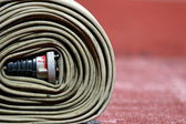 Fire fighter hose — Stock Photo