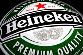 Heineken beer ad — Stock Photo