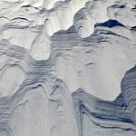 dunas de nieve — Foto de Stock