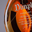 Stock Photo: Dimple Scotch Whiskey bottle