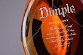 Dimple Scotch Whiskey bottle — Stock Photo