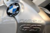 BMW R1200GS motorycle logo — Stock Photo
