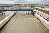 Water treatment plant — Stock Photo