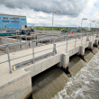 Stock Photo: Water treatment plant