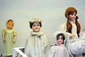 Vintage dolls — Stock Photo