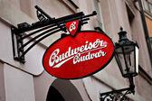 Budweiser ad — Stock Photo