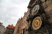 Prague astronomical clock tower — Stock Photo