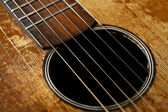 Old guitar detail — Stock Photo