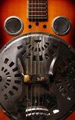 Vintage guitar — Stock Photo