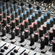 Music mixer desk — Stock Photo #19827521
