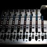Music mixer desk — Stock Photo #20222545