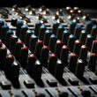 Music mixer desk — Stock Photo #20222793