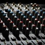 Music mixer desk — Stock Photo #20222793