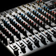 Music mixer desk — Stock Photo #20222867