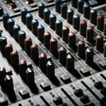 Music mixer desk — Stock Photo #20222915
