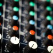 Music mixer desk — Stock Photo #21011983
