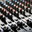 Music mixer desk — Stock Photo