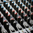 Music mixer desk — Stock Photo #21460979