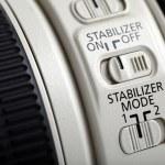 Photo lens stabilizer — Stock Photo #22243365