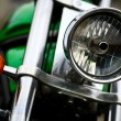 Royalty-Free Stock Photo: Motorcycle headlight
