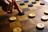 Checkers game — Stock Photo