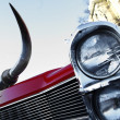 Vintage headlight — Foto de Stock