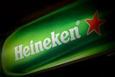 Heineken beer ad — Stock Photo