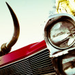 Stock Photo: Old Cadillac