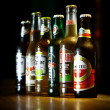 Various beers — Stock Photo