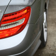 图库照片: Mercedes rear light