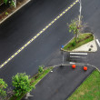 Stock Photo: Empty junction