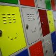 Stock Photo: Colored Lockers