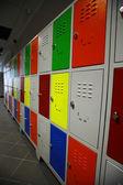 Colored Lockers — Stock Photo