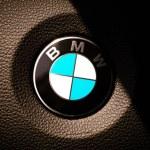 BMW logo — Stock Photo