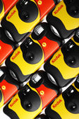 Kodak disposable camera — Stock Photo