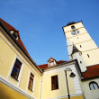 Clock Tower in Sibiu — Stock Photo