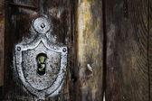 Vintage keyhole — Stock Photo