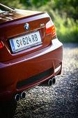 Bmw m3 bil tillbaka — Stockfoto