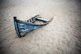 Opuszczony łódź — Zdjęcie stockowe