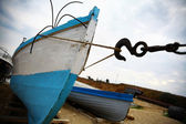 Boats by the sea — Stock Photo