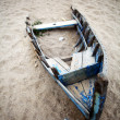 Abandoned boat — Foto Stock