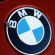 Stock Photo: Flying BMW