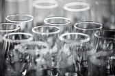 Champagne glasses — Photo
