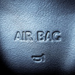 Airbag — Stock Photo