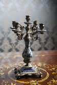 Vintage candlestick — Stock Photo