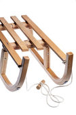 Wooden sledge — Stock Photo