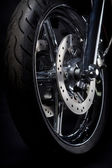 Motorcycle tire — Stock Photo