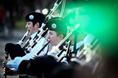Saint Patrick parade in Bucharest, Romania. — Stock Photo